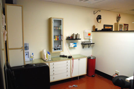 1 of 4 Tattoo Procedure Rooms