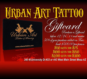 Gift Card Specials!